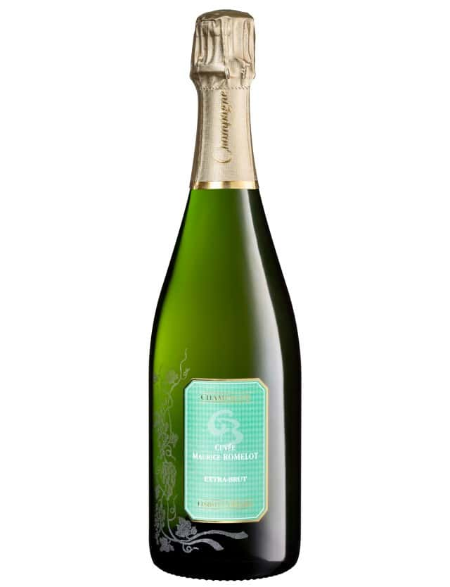 CHAMPAGNE EXTRA BRUT  2 cuvee maurice romelot extra brut