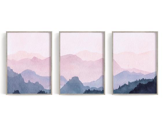 Poster aquarelle montagne 7 il 570xN.2189931389 9kxc 1