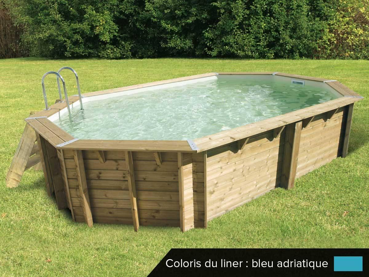 Piscine bois 3 piscine bois ocea 610 x 400 x 130 m ubbink