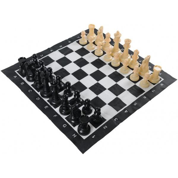 Jeu d'échecs de jardin 1 Jeu echecs jardin geant blanc 04